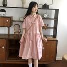 日系連身裙 很仙的女春夏2019流行新款韓版中長款學生仙女超仙系裙子