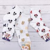 【正版授權】迪士尼 Disney 米奇 米妮 小熊維尼 小圖滿版 韓國襪子 卡通襪 長襪