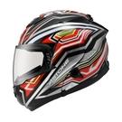 【東門城】ASTONE RT1300F AI2(平黑紅) 可掀式安全帽 雙鏡片 玻璃纖維