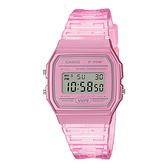 CASIO 手錶專賣店卡西歐 F-91WS-4 果凍材質系列 電子錶 小巧簡約錶面 樹脂錶帶 防水 LED照明