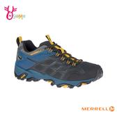 MERRELL 成人男款 GTX防水速乾 避震黃金大底 兩棲 戶外登山運動鞋_ML48681 H8378#灰藍◆OSOME奧森鞋業