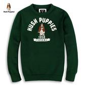 Hush Puppies 線衫 男裝經典毛線繡刺繡狗針織線衫