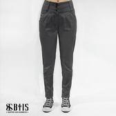 【BTIS】打摺AB長褲 / 鐵灰色