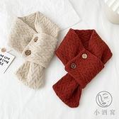 針織圍巾日系短款裝飾圍脖百搭秋冬【小酒窩服飾】