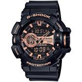 【台南 時代鐘錶 CASIO】卡西歐 G-SHOCK 宏崑公司貨 GA-400GB-1A4 限量配色雙顯運動錶