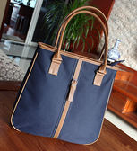 女包新款布包商務辦公包資料包手提側背書包A4檔包女公事包   LX  韓流時裳