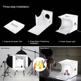 便攜式折疊LED 攝影棚20cm迷你拍照攝影