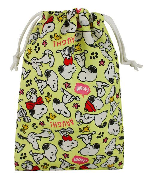 【卡漫城】 Snoopy 束口袋 ㊣版 史努比 史奴比 MP3袋 鉛筆袋 手機袋 電器 收納包 萬用 手提袋 台灣製