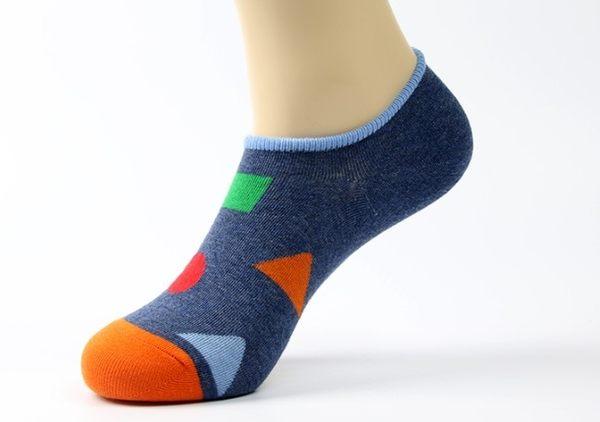 [協貿國際]春夏淺口潮男棉襪4雙裝