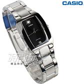 CASIO卡西歐 LTP-1165A-1C2 都會感 社會新鮮人 不銹鋼帶 鑲鑽女錶 黑色 LTP-1165A-1C2DF