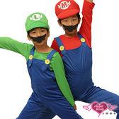 兒童角色扮演 綠 瑪利歐兄弟 路易 小孩角色服 萬聖節 耶誕裝 表演服 有親子裝 仙仙小舖