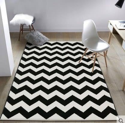 北歐簡約現代客廳沙發茶几地毯臥室房間家用床邊滿鋪可機洗長方形