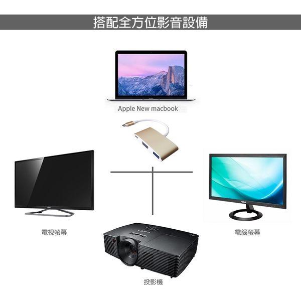 Awesome USB3.1 TypeC to VGA轉接線-A00250005