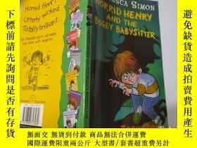 二手書博民逛書店Horrid罕見Henry and the Bogey Babysitter:可怕的亨利和可怕的保姆Y2003