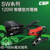 電動摩托車 充電器SW12V8A (120W) 鋰鐵電池/鉛酸電池 適用