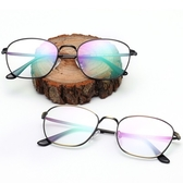 鏡框(細框)-文藝氣質復古熱銷男女平光眼鏡9色73oe17【巴黎精品】