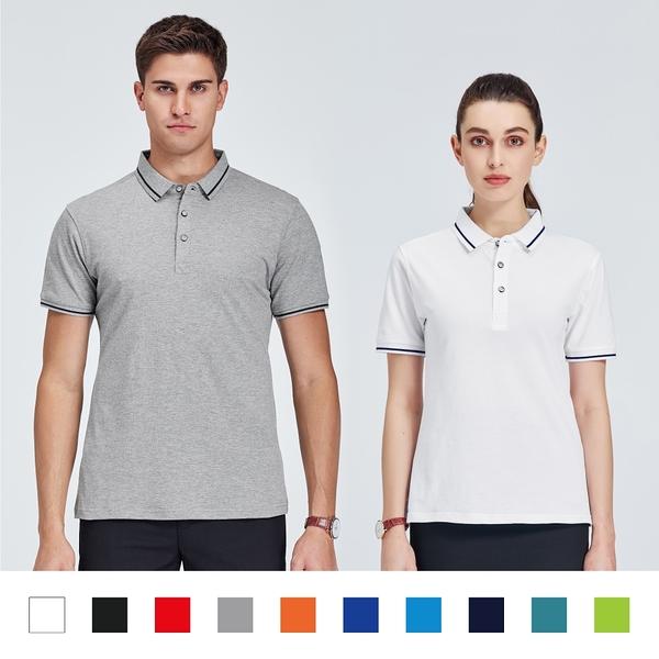 【晶輝團體制服】LS7989-配色短袖POLO衫素面款式(印刷免費)一件也做,快速交貨