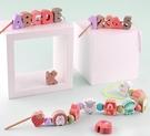 幼兒串珠字母數字益智