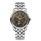 TITONI 梅花錶 大師系列 天文台 月相錶(94588S-637) 炭灰/41mm