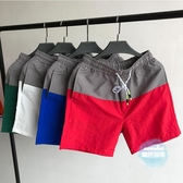 沙灘褲 短褲男潮 韓版修身男士休閒運動薄款夏季4分中褲大褲衩沙灘褲 8色