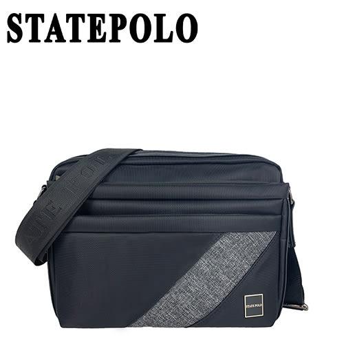 STATE POLO 簡單斜紋款側包 NO:1859(大款)