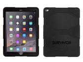 【唐吉】Griffin Survivor All-Terrain iPad Pro 12.9 吋  (2017 & 2016) 四重防護矽膠保護套組