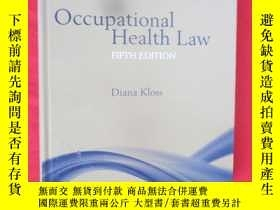 二手書博民逛書店Occupational罕見Health Law (16開,硬精