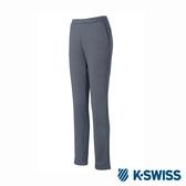 K-SWISS Jersey Pants韓版運動長褲-女-灰