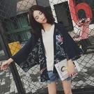 日本和風日式和服古裝漢服蝙蝠袖開衫女古風...
