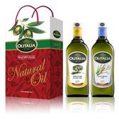 Olitalia奧利塔純橄欖油+玄米油禮盒組(1000mlx2瓶)【屈臣氏】