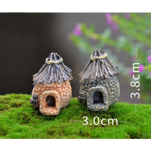 小擺件 小屋 房子 小房子 復古小屋 造景 水族造景 佈景 魚缸