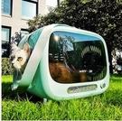 貓包外出便攜冬天貓咪背包太空艙貓籠子書包手提寵物包外出外帶包 依凡卡時尚
