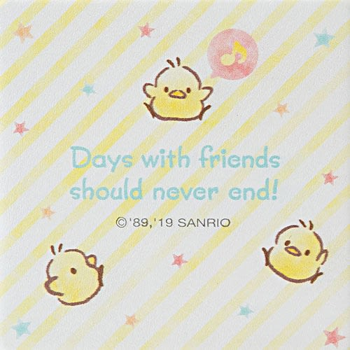 Sanrio 帕恰狗方型隨身雙面鏡(快樂音符)★funbox★_849545