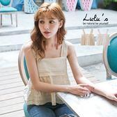 LULUS特價-C布蕾絲洞洞透膚無袖上衣-2色  現+預【01111138】