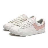 PONY 休閒鞋 TOP STAR 白粉紅 皮革 百搭 休閒 復古 板鞋 女 (布魯克林) 81W1TS01PK