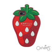 Candies 立體草莓手機殼(紅) iPhone 7/8 (4.7吋)(送玻璃保護貼)