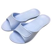 HOLA EVA柔軟室內拖鞋藍20#