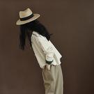 純棉復古學院風開衫 圓領單排扣純色長袖毛衣外套-夢想家-1015