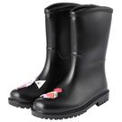 女士雨鞋可愛中高筒防水防滑套鞋 成人水鞋膠鞋時尚韓版雨靴女夏季‧防水