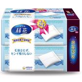絲花化妝棉82片2盒(屈臣氏獨家)