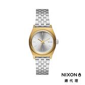 【官方旗艦店】NIXON SMALL TIME TELLER 極簡迷你錶款 銀X金 潮人裝備 潮人態度 禮物首選