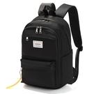 多功能簡約電腦運動旅行雙肩背包(黑色)