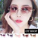 OT SHOP太陽眼鏡‧韓系時尚金屬貓眼...