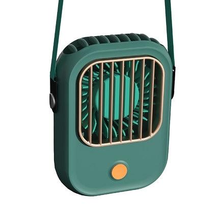 掛脖風扇 懶人可攜式隨身掛頸脖子靜音迷你無葉usb可充電桌面手持兒童製冷空調電扇