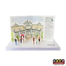 【收藏天地】遊台灣立體明信片*故宮博物館∕ 送禮 旅遊紀念