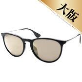原廠公司貨-【Ray-Ban雷朋】4171F-601/5A-57 亞洲加高鼻墊水銀太陽眼鏡(#率性金屬細邊-大版)