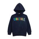 『小鱷魚童裝』logo刷毛連帽外套(08...