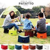 【日本 PATATTO】超輕量 SOLCION 攜帶式折疊椅_M (3色) 野餐 露營 輕便 收納
