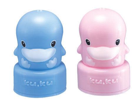 【奇買親子購物網】酷咕鴨KU.KU. 標準造型奶瓶蓋(藍色/粉色)