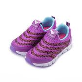 JUMP 飛織套式運動鞋 紫 JP205 中大童鞋 鞋全家福